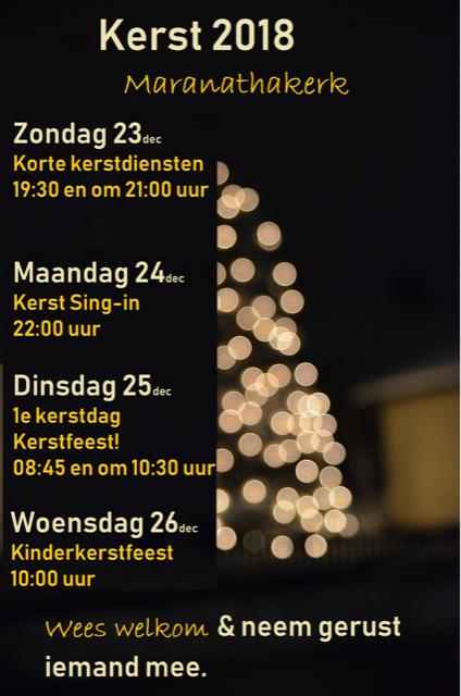 Kerst Sing-in