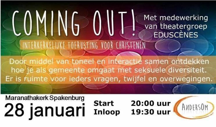 Coming out! Interkerkelijke toerusting voor christenen