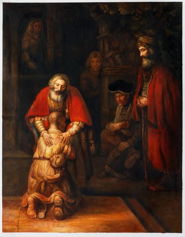 rembrandt - de verloren zoon